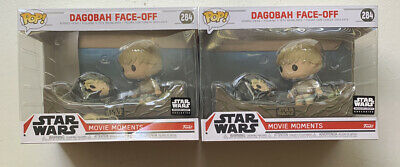 Star Wars Funko POP #284 Dagobah Face Off Movie Moments Skywalker Bobble Head