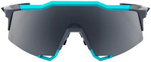 8619899030 100% SpeedCraft Sunglasses  Soft Tact Celeste Green Cement Gray Frame with  Black Mirror Lens