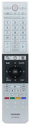 "Genuine Toshiba Remote Control For 47L7453DB 47"" Full HD Smart 3D LED TV"