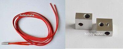 Heat Block Cartridge 3d Printer Makerbot Reprap Mk7mk8 Hot End  Accessories