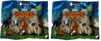 Breyer Mystery Pocket Box Dogs Blind Bags Dog 2 Pack Model #1590