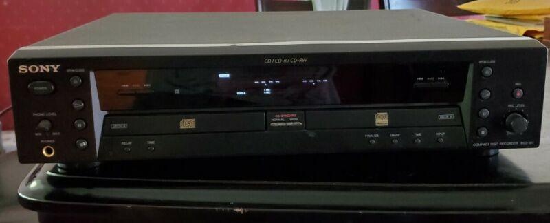 Sony CD/CD-R/ CD-RW Model RCD-W1