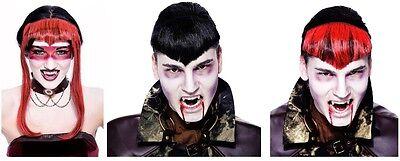 WIDOW'S PEAK HAIR PIECES ~ Gothwork Steampunk ~ Halloween Costume Party Supplies