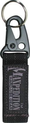Maxpedition Keyper Black 1703B Key retention system. Metal alloy quick release s