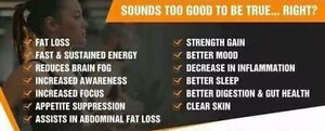 Weight Loss,Energy,Better Sleep,Burn more Fat,Incerased Stamina