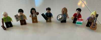 New LEGO Ideas, Friends The Television Series, All Seven Minifigures (21319)