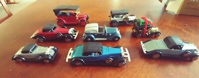 8 MINIATURE CARS for Village, Train, Decor, ERTL, Dept 56 + for sale  Spring Hill