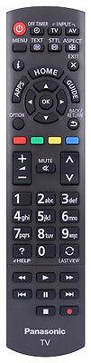 Genuine Original Panasonic Lcd Tv Remote For Tx-l32e6b, Tx-l42e6b & Tx-l39e6b