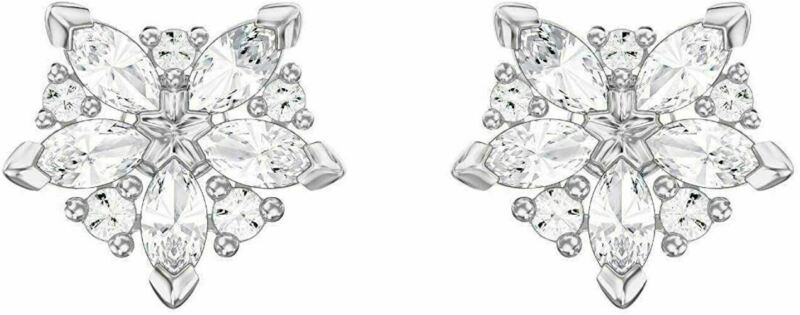 Authentic New in Box $69 Swarovski Lady Stud Earrings #5390190