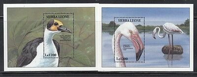 Sierra Leone Scott 1739-40 Mint NH (Catalog Value $18.50)