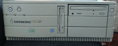 Old Pc computer Gateway Pentium 200 ISA sound, S3, Windows 98, Dos, Retro, ISA