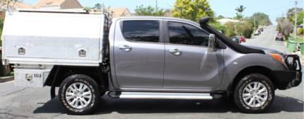 2012 Mazda BT-50 Ute TURBO DIESEL 4X4 3.2 REGO & RWC