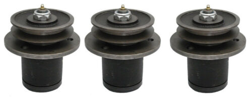 Set of Three (3) King Kutter Finish Mower Spindle Code 502303 with Free Shipping
