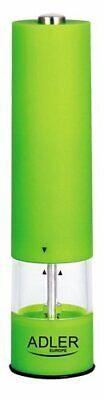 Molinillo Pimentero electrico a pilas ADLER AD4435. Verde