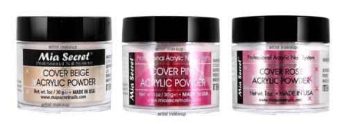 Mia Secret Acryl Pulver Abdeckung Beige, Pink, Rose 1.0 oz 3er Set