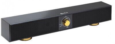 17 Inch Stereo USB Powered Speaker Sound Bar For Desktop Laptop Cell Phone TV PC