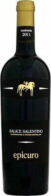 Epicuro Salice Salentino D.O.C. Rotwein mit süditalienischen Charakter 750ml