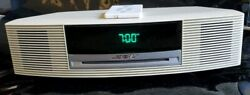 Bose AWRCC2 Wave Radio CD Player Clock Alarm AM/FM Music Stereo with remote