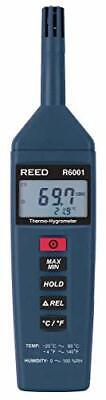REED Instruments R6001 Thermo-Hygrometer -4 to 140°F -20 to 60°C 0-100%RHBlue