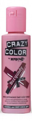 CRAZY COLOR 61 Burgundy, Semipermanente Creme Haarfarbe, 100ml