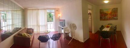 Great top flr apt balcony great view. Pool. Laundry. Parkspace