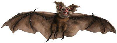 Brown Bat Halloween Party Decoration Prop Haunted House Batcave Vampire - Bat Cave Halloween Decorations