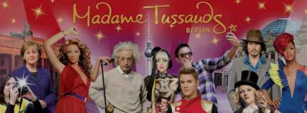 DOUBLE ADULT PASS to Madame Tussauds Wax Museum Sydney