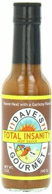 Total Insanity Hot Sauce from Dave's Gourmet Total Insanity Hot Sauce - 5oz Daves Gourmet Insanity Hot Sauce
