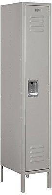 Salsbury Industries 61155gy-u Standard Metal Locker Single Tier Gray New