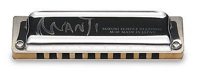 NEW LOW TUNED Suzuki Manji Harmonica LOW C Authorized Dealer SUZUKI USA WARRANTY