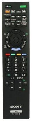 Sony Bravia RM-ED029 Television Remote Control KDL-40EX403