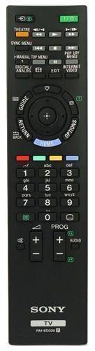 *NEW* Genuine Sony Remote Control For KDL40EX503 KDL-40EX503