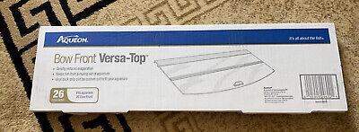 Versa-Top Glass Canopy for 26 gallon Bowfront Tank Aqueon Brand Aquarium #29602 Tank Versa Top