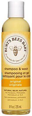 Burts Bees Baby Bee Shampoo and Wash, 235 ml
