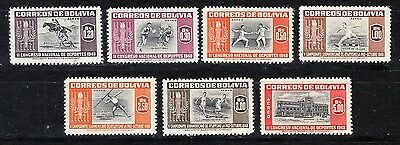 Bolivia Scott C150-C156 Mint NH