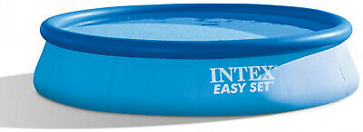 NEW Intex Swimming Pool Above Ground Backyard Summer 12 ft W x 30 Inch With Pump