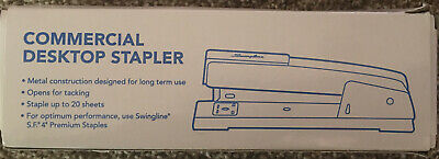 Swingline Desk Stapler Commercial 20 Sheets Capacity Black S7044401