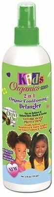 Africa's Best Originals Kids 2-n-1 Natural Olive Oil Conditioning Detangler