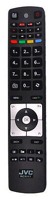 100% Genuine JVC Remote Control For JVC TV / LT-50C740 / LT-39C740 / LT-32C740