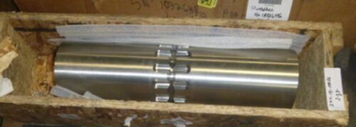 """Interroll Drum Motor 165i Stainless Steel Shell approximatley 23"""" long 6.38"""" dia"""