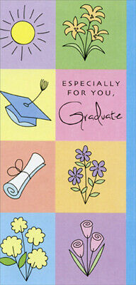 Colored Panels with Blue Border Graduation Money Holder by Freedom - Graduation Border