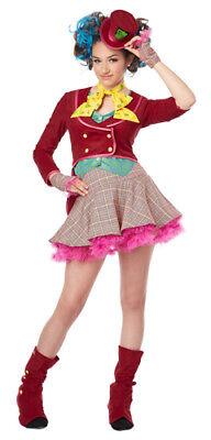 Girls Mad As A Hatter Tween Halloween Costume (Halloween Costumes Tween Girls)