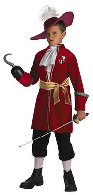 Disneys Captain Hook Child Pirate - Baby Captain Hook Costume