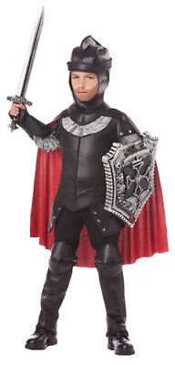 The Black Knight Boys Medieval Halloween Costume