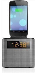 Philips AJT3300/37 Bluetooth Clock Radio Iphone/ Android Speaker Dock (black)