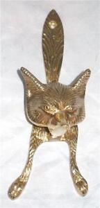 Brass Fox Door Knocker