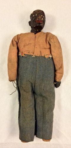 Antique Folk Art Doll Ebay