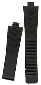 GENUINE-NEW-OEM-TAG-HEUER-KIRIUM-BLACK-RUBBER-STRAP-MODEL-FT6000