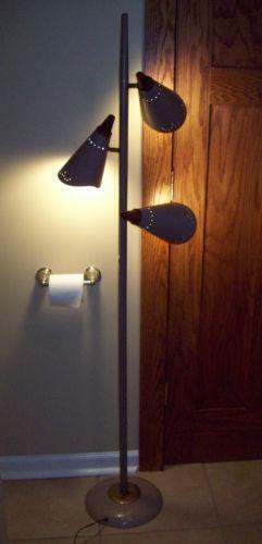 Mid Century Modern Pole Lamp Ebay