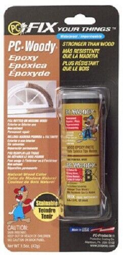 Protective Coating, 2 Pack, PC-Woody 1.5 OZ, 2 Component Woo